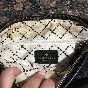 kate spade Bags - Kate Spade Black leather crossbody bag